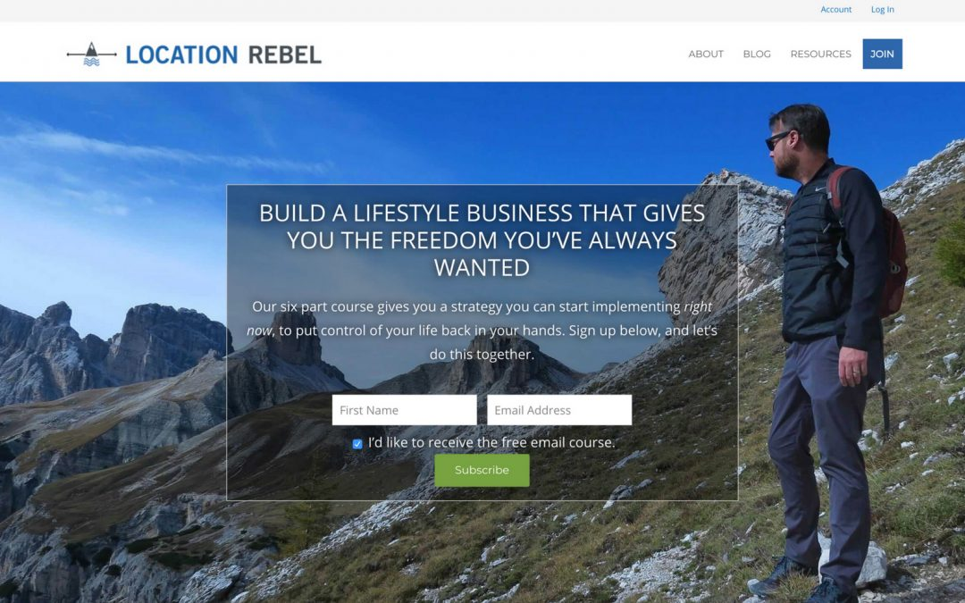Interview with Sean Ogle from Location Rebel