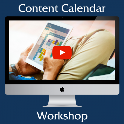 content calendar workshop