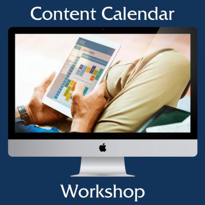content calendar workshop