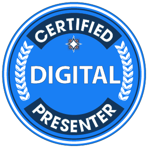 Certified Digital Presenter badge